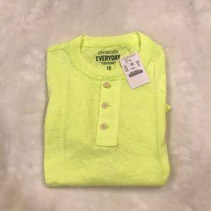 Crewcuts Everyday shirt boys size 10